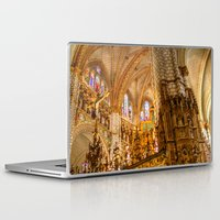ornate Laptop & iPad Skins featuring Ornate by John Hinrichs