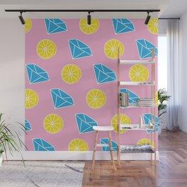 Diamonds and Lemons Wall Mural