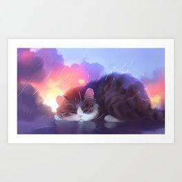 napping club Art Print
