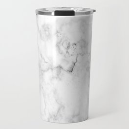 White marble decor Travel Mug