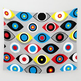 Eye on the Target Wall Tapestry