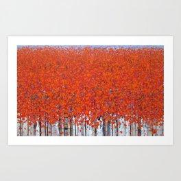 Late autumn 3 Art Print