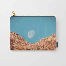 Moon over Anza Borrego Carry-All Pouch