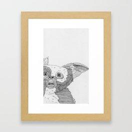 Gizmo / Mogwai. Framed Art Print