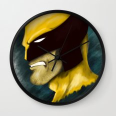 Wolverine Wall Clock