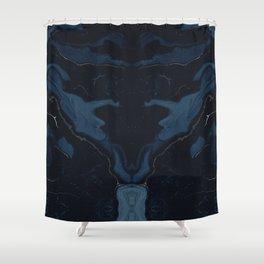 Midnight Xx Shower Curtain