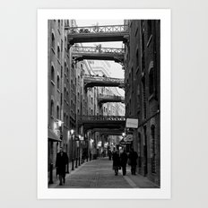 In between  Art Print