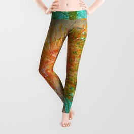 healing hands Leggings
