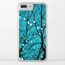 twinkly lights in a tree. Wonder Clear iPhone Case