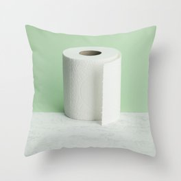 Toilet Paper | ready-made 2 Throw Pillow