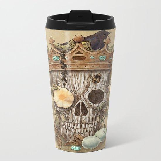 Nature's Reign  Metal Travel Mug