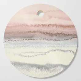 WITHIN THE TIDES - SNOW ON THE BEACH Cutting Board