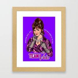 Team Vida Framed Art Print