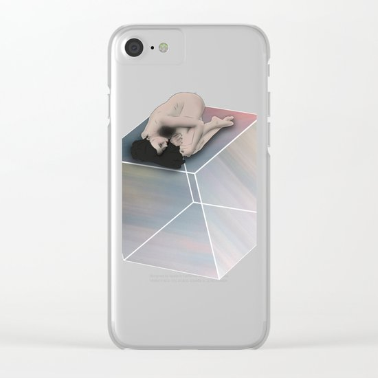 Cube Travel Clear iPhone Case