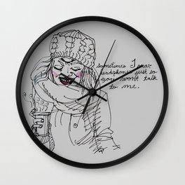 dear people on the public transit, Wall Clock