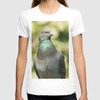 pigeon T-shirts featuring Pigeon by Vishal Wadhwani
