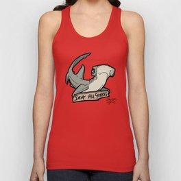 Save All Sharks (says Bonnie!) Unisex Tank Top