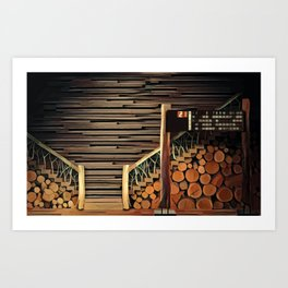 Clubhouse Art Print