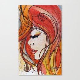 Velvet Waltz Canvas Print