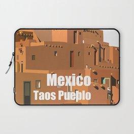 Mexico Taos Pueblo Laptop Sleeve