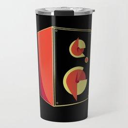 Box Speaker Abstract Travel Mug