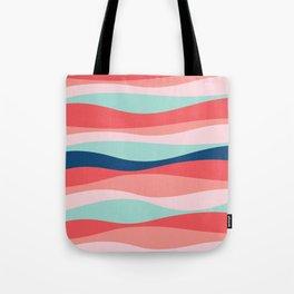 Good vibe wave pattern Tote Bag