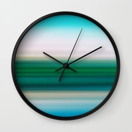 Spring Time in the Meadow Wall Clock