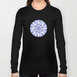 Blue Crystal Long Sleeve T-shirt