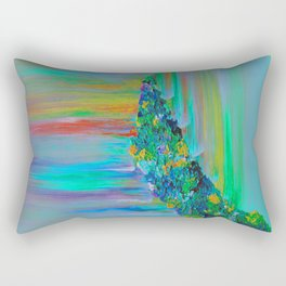 Cyan Lemonade - Have you Tried It? Rectangular Pillow