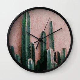 Cactaceae Wall Clock