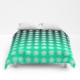 You're a Star! Green and Black! Comforters