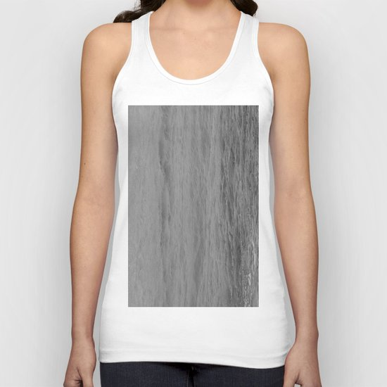 WATER LIKE MARBLE. Unisex Tank Top