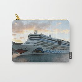AIDAluna Cruise Ship in Road Town on Tortola Carry-All Pouch