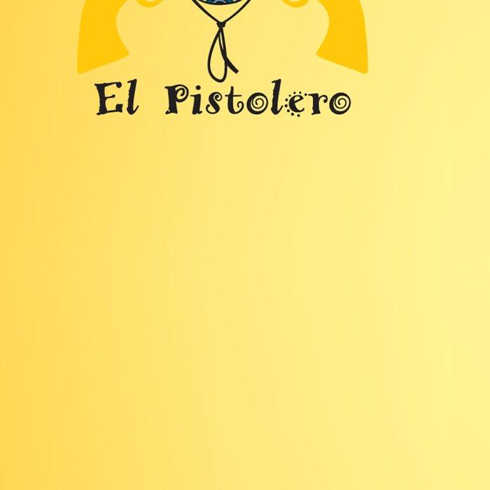 El Pistolero.Mexican sugar skull Leggings