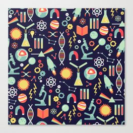 Science Studies Canvas Print