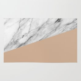 Marble and Hazelnut Color Rug