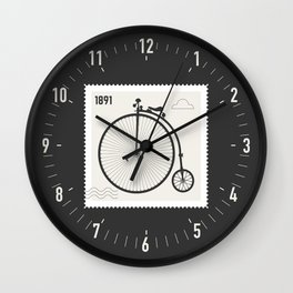 Penny Farthing 1891 Wall Clock