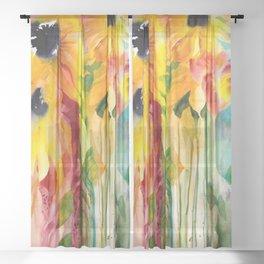 Summer Eminence Sheer Curtain