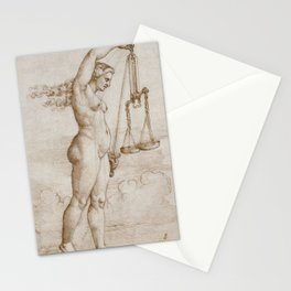 Allegory of Justice, 1533 Stationery Cards
