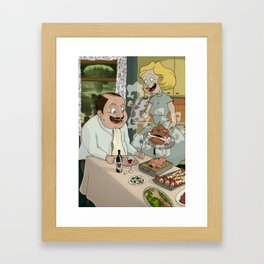 Cannibals Framed Art Print