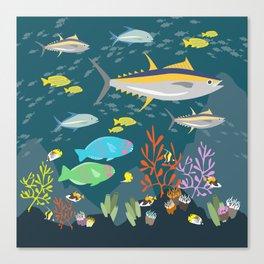 Hawaiian Reef Canvas Print