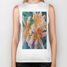 Tiger Lilly's in Spring II Biker Tank