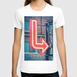Neon Red Arrow T-shirt