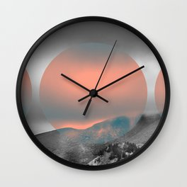 The Fog Wall #2 Wall Clock