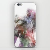 falcon iPhone & iPod Skins featuring Falcon by NKlein Design