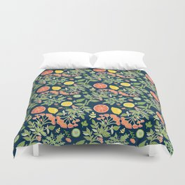 Gin and Tonic Pattern Duvet Cover
