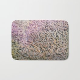 textured wall for background and texture Bath Mat
