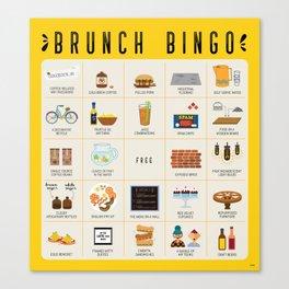 Brunch BINGO Canvas Print