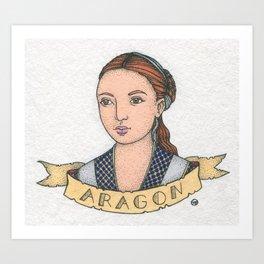 Catherine of Aragon Art Print