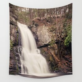 Bushkill Falls Waterfall, Pocono Mountains - Pennsylvania Wall Tapestry